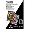 Canon Mppp20 Zink 2 X 3 Inch Photo Paper Sticky Backed Zero Ink Pack of 20