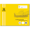 OLYMPIC NOTEBOOK STUDENT NSW 175mm x 240mm 32 Pages Landscape Yellow