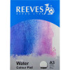 REEVES WATER COLOUR PAD A4 Medium Texture 300GSM 12 Sheets