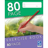SOVEREIGN EXERCISE BOOK 8MM Ruled 225mm x 175mm 80 Page
