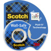 SCOTCH TAPE 183 Wall Safe Dispenser Clear 19mm X 16.5m