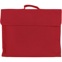 Celco Library Bag 370x290mm Dark Red