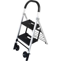 Durus Folding Ladder Trolley 2 Step