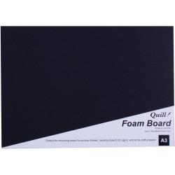 QUILL BOARD Foam A3 Black