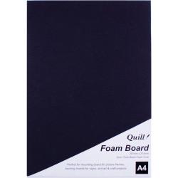 QUILL BOARD Foam A4 Black