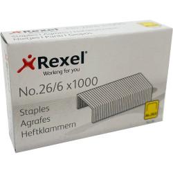 Rexel No.56 Staples 26/6 Box Of 1000