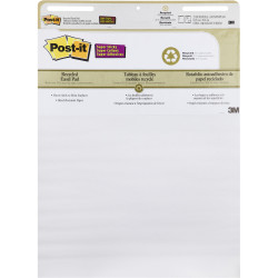 Post-It 559-RP Easel Pad Self Stick 635x762mm Recycled White 30 Sheet Pad