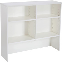 Rapid Span Desk Hutch 1070Hx1200Wx315mmD All White