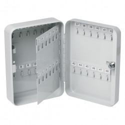 Esselte Key Cabinet H200xL160xW60mm 20 Keys Grey