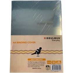 BIBBULMUN BINDING COVERS A4 Clear 200 Micron Pack of 100